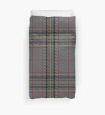 Stuart/Stewart Authentic Grey Clan/Family Tartan  Duvet Cover