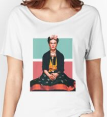 Frida Kahlo Vogue Women's Relaxed Fit T-Shirt