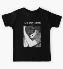Joy Division Ian Curtis Singing Kids Tee