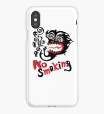 No Smoking - monster iPhone Case/Skin