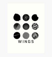 BTS - WINGS Art Print