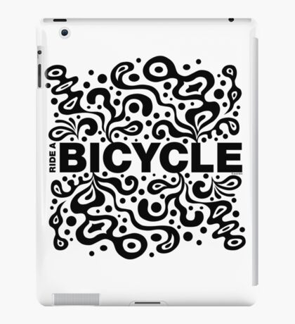Ride a Bicycle - funky iPad Case/Skin