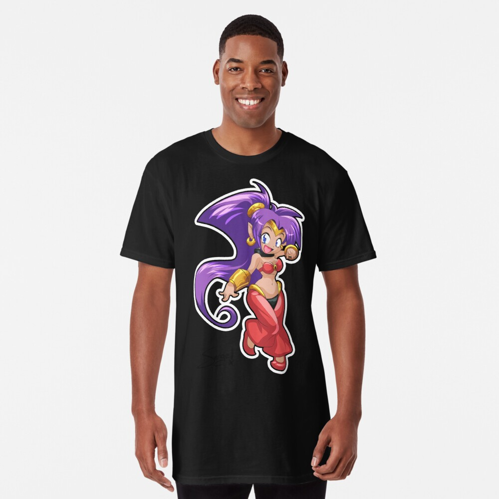 Shantae - No BG Camiseta larga