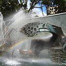 Newcastle (NSW) - Civic Fountain Rainbow by KazM