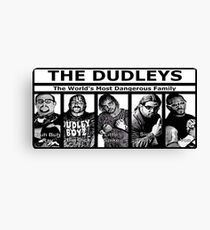 The Dudley Boys Canvas Print
