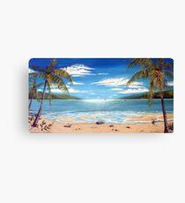 Long Island Paradise, Australia  Canvas Print