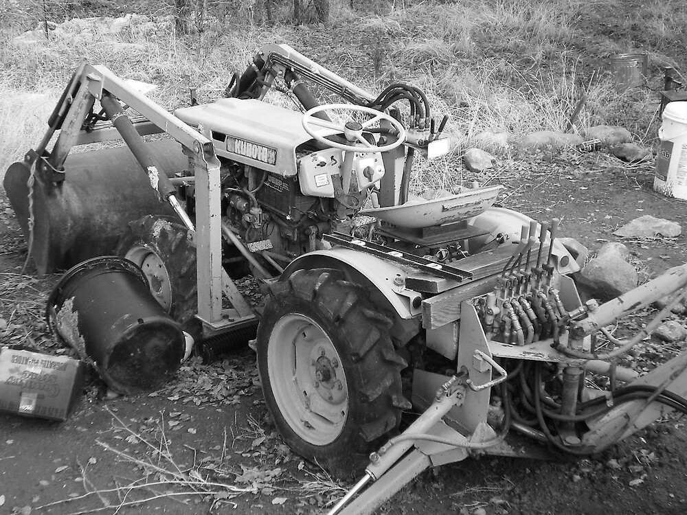 tractor by Mary Raven