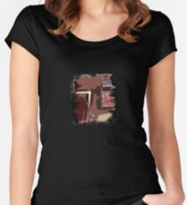 70's-80's icons Women's Fitted Scoop T-Shirt