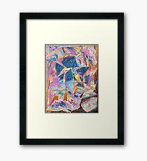 Sunset Through Fragments Framed Print