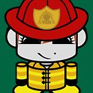 Firefighter HERO'BOT Toy Robot 2.0 by Carbon-Fibre Media