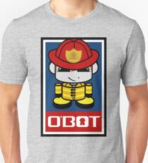 Firefighter HERO'BOT Toy Robot 2.1 Unisex T-Shirt