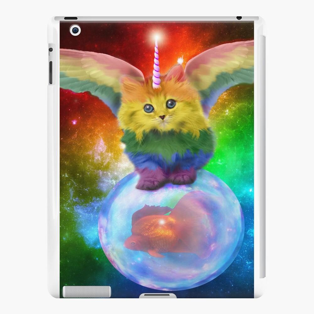 Rainbow Mewnicorn en Spacez Vinilos y fundas para iPad
