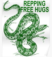 Repping Free Hugs  Poster