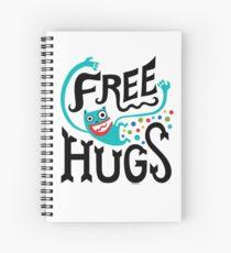 Free Hugs Spiral Notebook