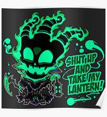 SHUT UP AND TAKE MY LANTERN!! Poster