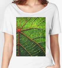 Vector Leaf Women's Relaxed Fit T-Shirt