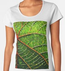 Vector Leaf Women's Premium T-Shirt