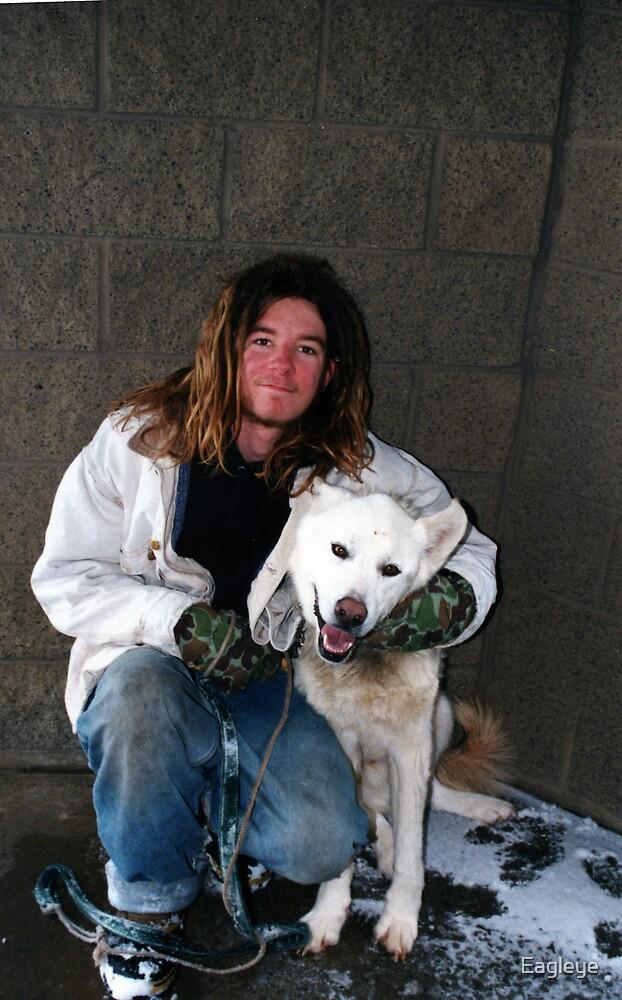 Boy and Dog by Eagleye