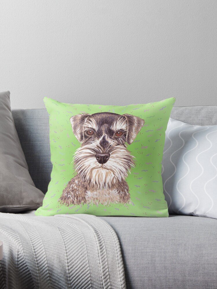 Miniature Schnauzer to Love by didielicious