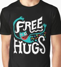 Free Hugs - on dark Graphic T-Shirt