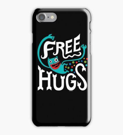 Free Hugs - on dark iPhone Case/Skin