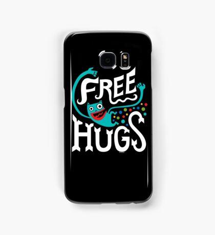 Free Hugs - on dark Samsung Galaxy Case/Skin