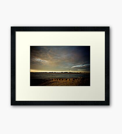 End of the day! Framed Print