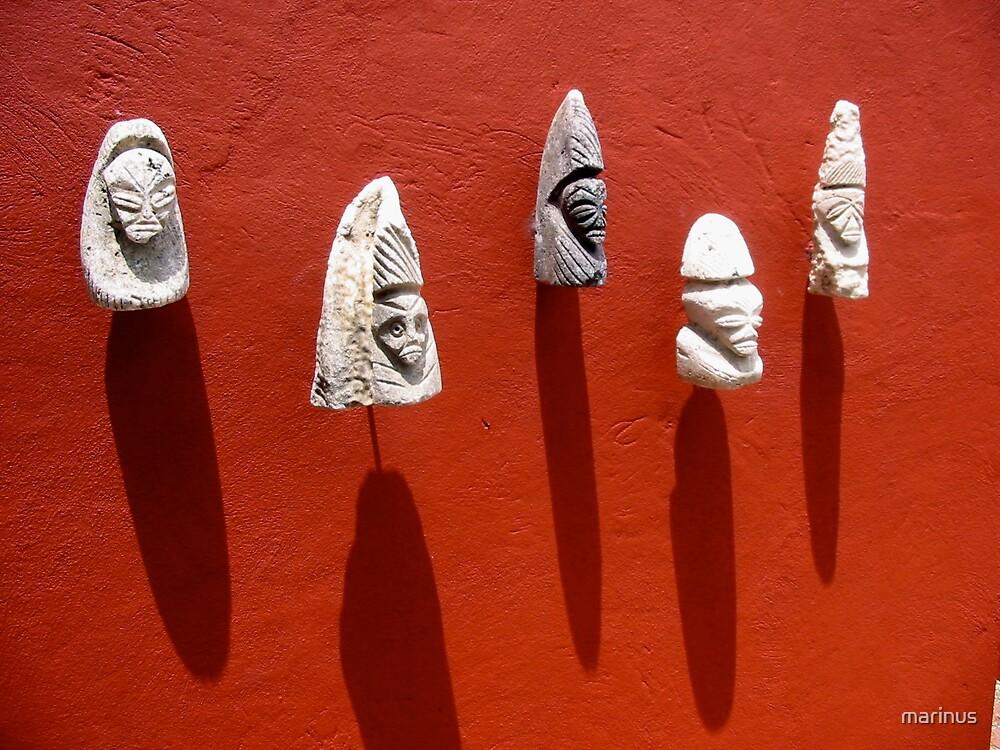 Little Heads by marinus