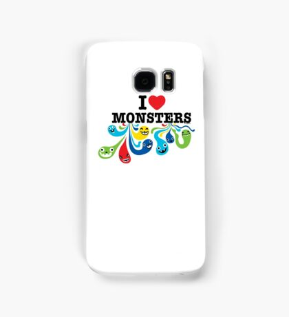 I Heart Monsters Samsung Galaxy Case/Skin