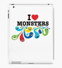 I Heart Monsters iPad Case/Skin