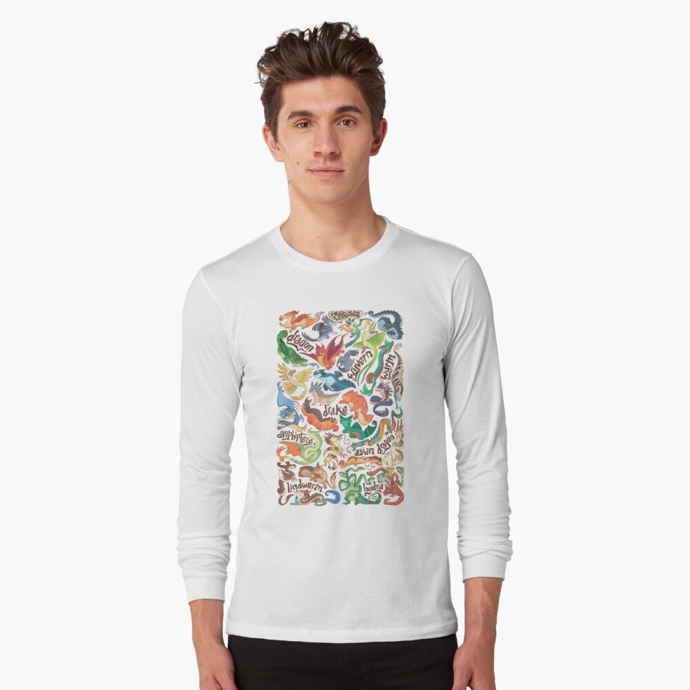 Mini dragon compendium  Long Sleeve T-Shirt