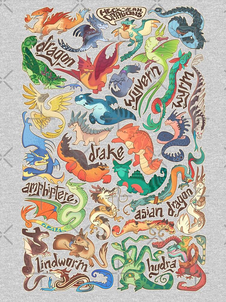 Mini dragon compendium  by Colordrilos