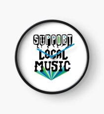 Support Local Music Clock