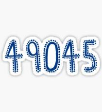 49045 Sticker