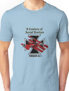 Fokker Dr.1 A Century of Aerial Warfare Unisex T-Shirt