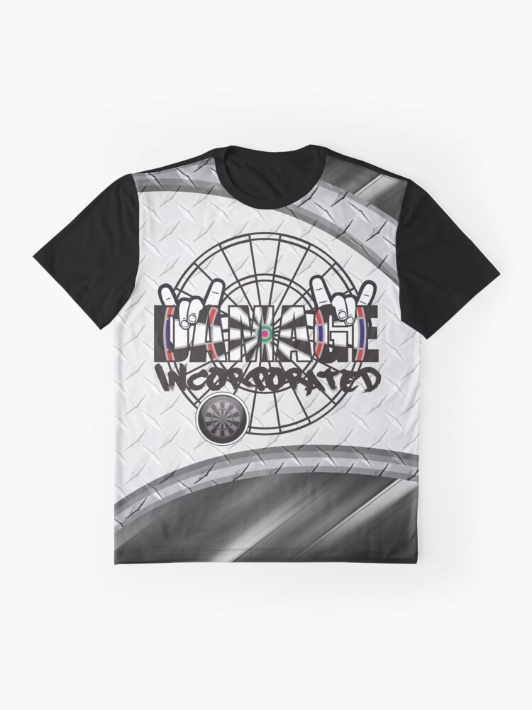 Alternate view of Damage Incorporated Darts Shirt Graphic T-Shirt