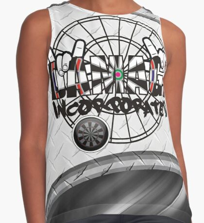 Damage Incorporated Darts Shirt Contrast Tank