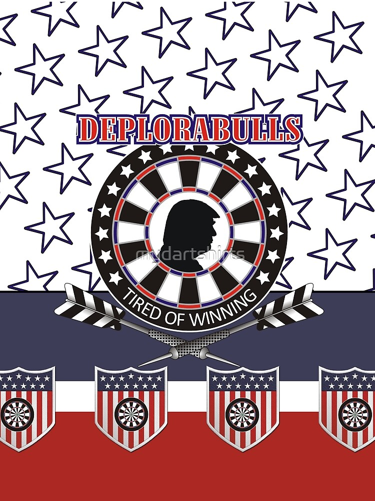 DeploraBulls Darts Shirt by mydartshirts