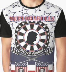 DeploraBulls Darts Shirt Graphic T-Shirt