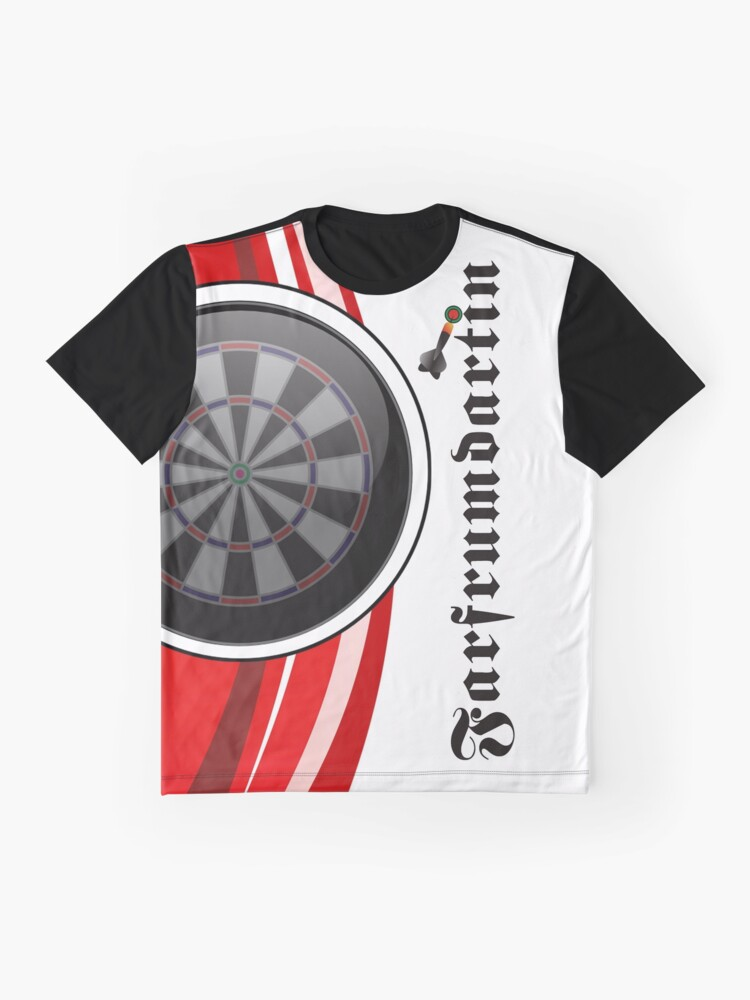 Alternate view of Farfrumdartin Darts Shirt Graphic T-Shirt
