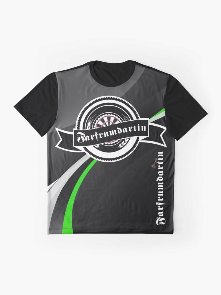 Alternate view of Farfrumdartin Darts Shirt Graphic T-Shirt