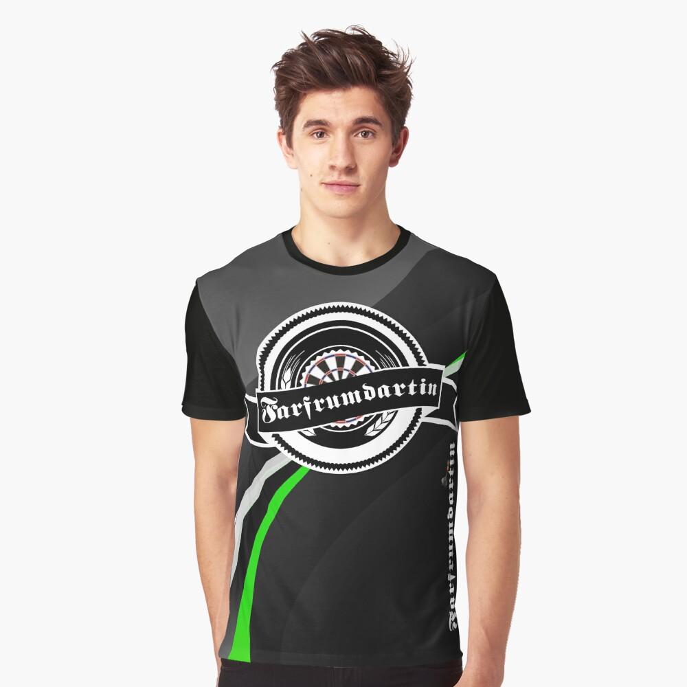 Farfrumdartin Darts Shirt Graphic T-Shirt Front