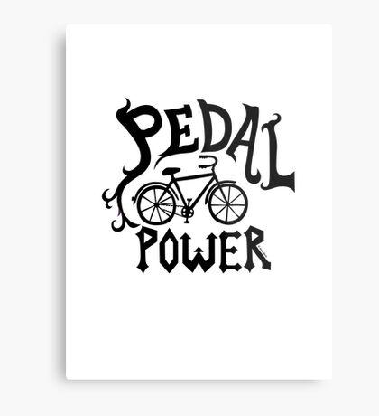 Pedal Power Metal Print