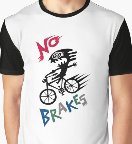 No Brakes Graphic T-Shirt