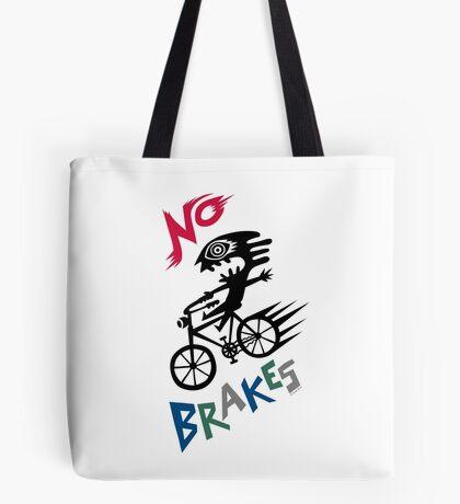No Brakes Tote Bag