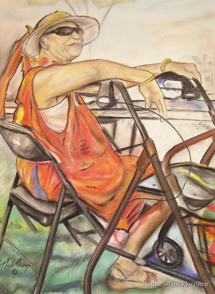 """ Jazzy lady by Nathaniel (nick)  crump"