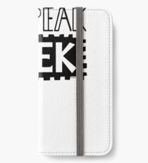 I Speak Geek iPhone Wallet/Case/Skin