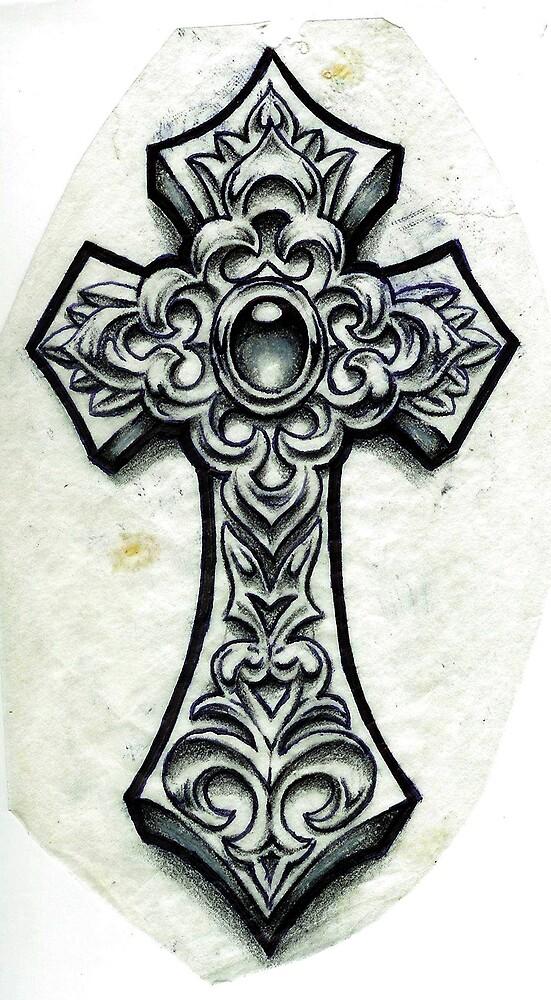 crucifix by Derek Mullins