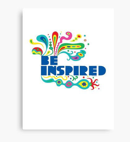 Be Inspired Canvas Print