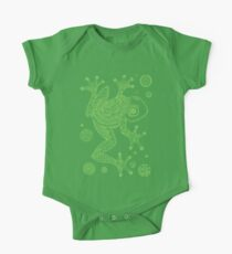 Green Frog One Piece - Short Sleeve